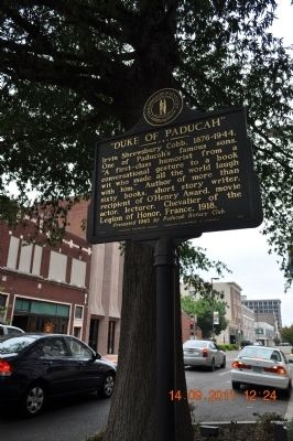 """Duke of Paducah' Marker image. Click for full size."
