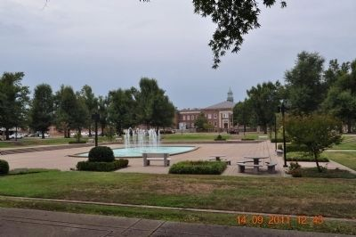 Dolly McNutt Plaza /Paducah Civic Center Plaza Park image. Click for full size.