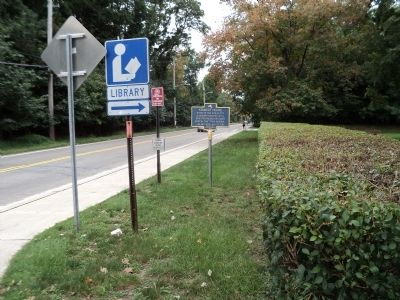 Marker on Kings Ferry Road image. Click for full size.