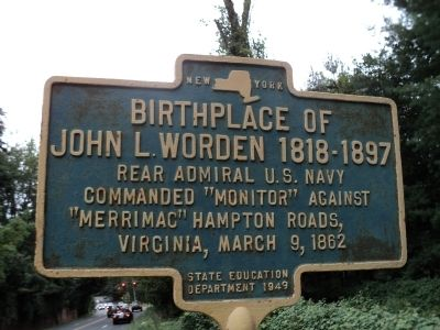 Birthplace of John L. Worden Marker image. Click for full size.