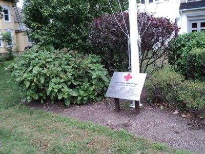 American Red Cross in Westchester County Marker image. Click for full size.
