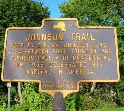 Johnson Trail Marker image. Click for full size.