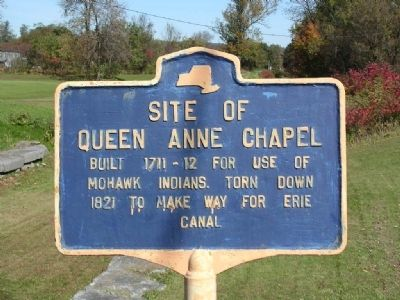 Site of Queen Anne Chapel Marker image. Click for full size.