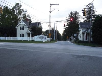 Looking east along Kirk Rd. image. Click for full size.