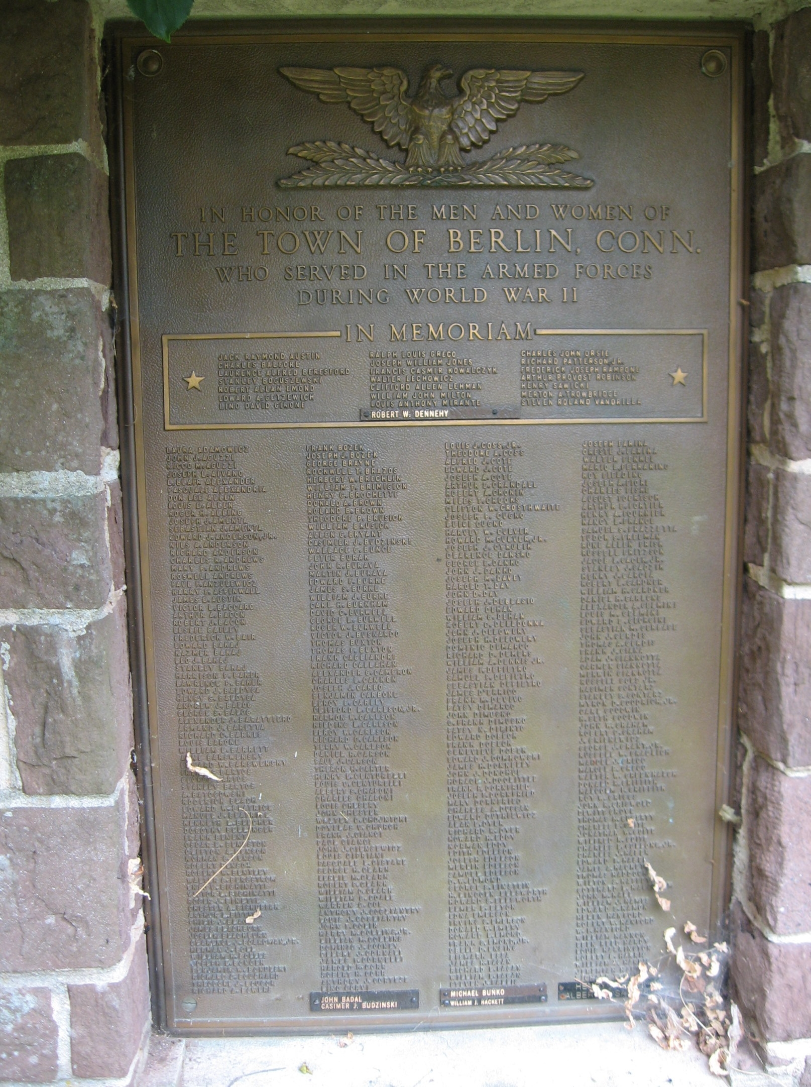 World War II Tablet