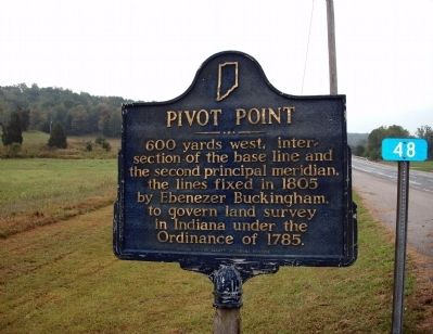 Obverse View - - Pivot Point Marker image. Click for full size.