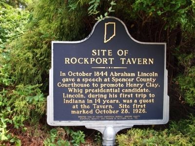 Site of Rockport Tavern Marker image. Click for full size.