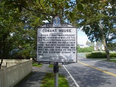 Conant House Marker image. Click for full size.
