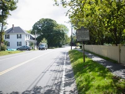 Conant House Marker approach view image. Click for full size.