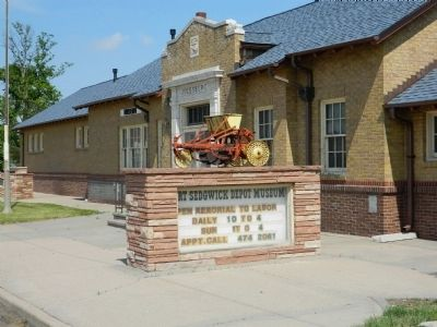 Fort Sedgwick Depot Museum image. Click for full size.