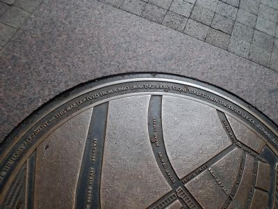 Dutch Hoog Straat Marker Detail image. Click for full size.