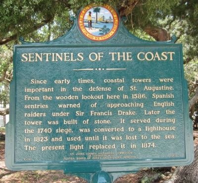 Sentinels of the Coast Marker image. Click for full size.