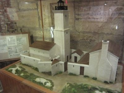 Model of the Earlier Lighthouse/Sentry Tower image. Click for full size.