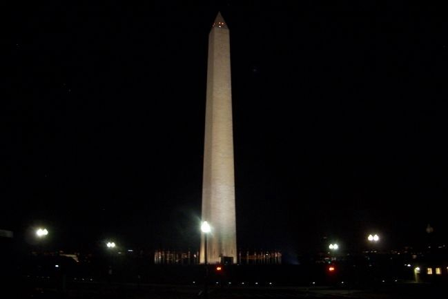 Washington Monument image. Click for full size.