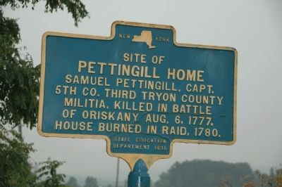 Pettengill Home Marker image. Click for full size.