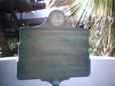Indian Haulover Marker image. Click for full size.
