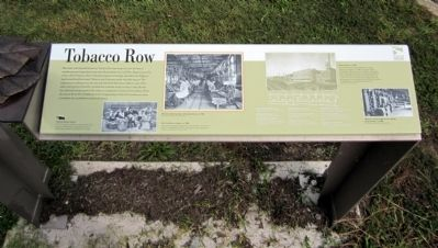 Tobacco Row Marker image. Click for full size.