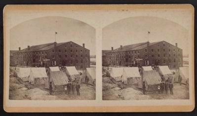 "Old ""Libby Prison"" building, Richmond, Va. image. Click for full size."