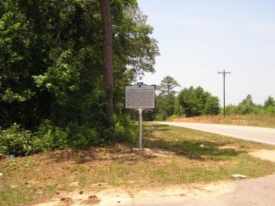 Pinewood Plantation Marker image. Click for full size.