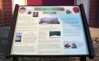The Patee House In The Civil War Marker image. Click for full size.