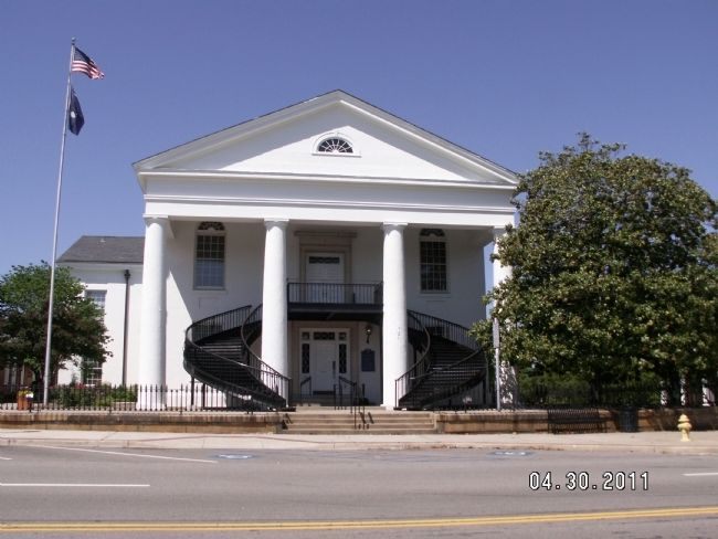 Fairfield County Courthouse image. Click for full size.