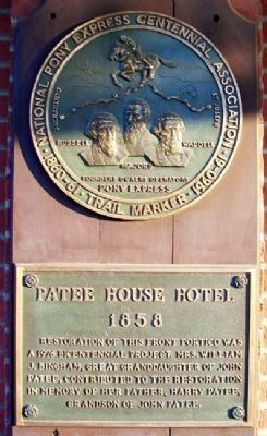 The Patee House Markers image. Click for full size.