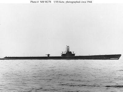 USS Kete (SS-369) image. Click for full size.