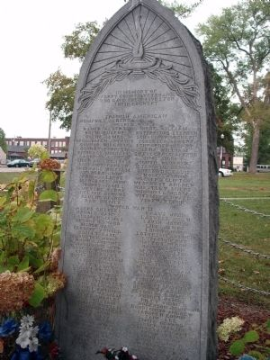Perry County Indiana Honor Roll Memorial Marker image. Click for full size.