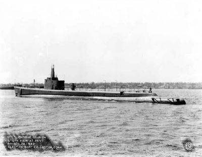 USS Grunion (SS-216) image. Click for full size.