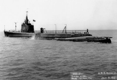 USS Gudgeon (SS-211) image. Click for full size.