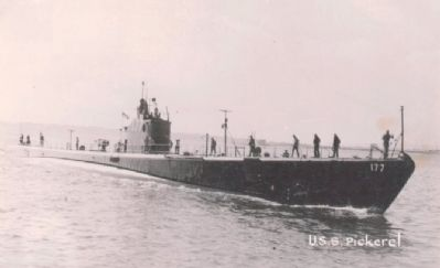 USS Pickerel (SS-177) image. Click for full size.