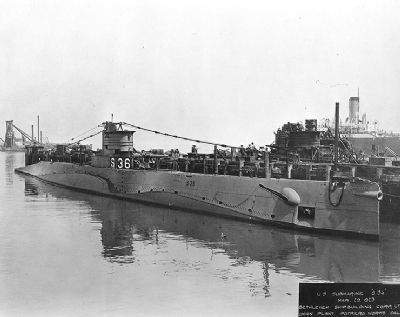Uss S-36 (ss-141) image. Click for full size.