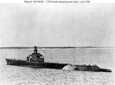USS Snook (SS-279) image. Click for full size.
