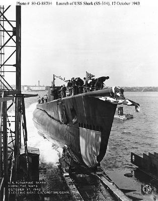 USS Shark (SS-314) image. Click for full size.