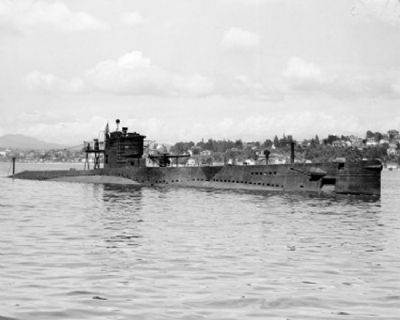 Uss S-28 (ss-133) image. Click for full size.