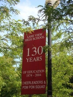 Lake View High School, Celebrating 130 Years. image. Click for full size.