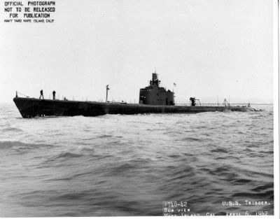 USS Trigger (SS-237) image. Click for full size.