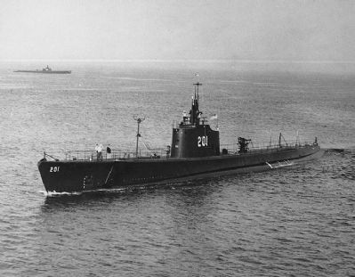 USS Triton (SS-201) image. Click for full size.