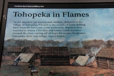 Tohopeka in Flames Marker image. Click for full size.