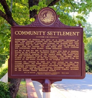 Community Settlement Marker image. Click for full size.