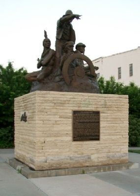 The Journey West Monument image. Click for full size.