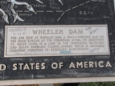 Wheeler Dam inset image. Click for full size.