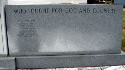 Right Panel - - Orange County Honor Roll Marker image. Click for full size.