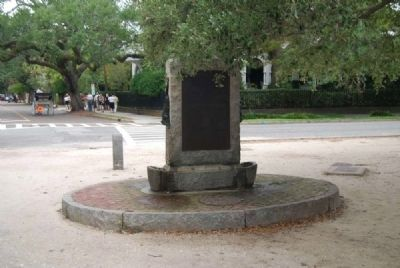 Civil War Torpedo Boatman Memorial<br>South Inscription image. Click for full size.