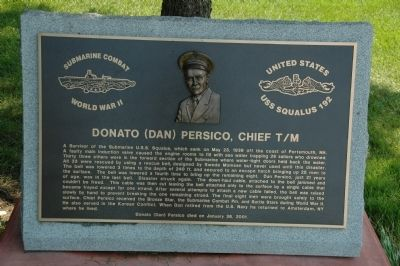 Donato (Dan) Persico, Chief T/M Marker image. Click for full size.