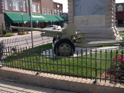 North - Fieldpiece - - at Civil War Memorial image. Click for full size.