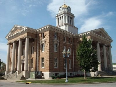 Dubois County Courthouse - - Jasper, Indiana image. Click for full size.