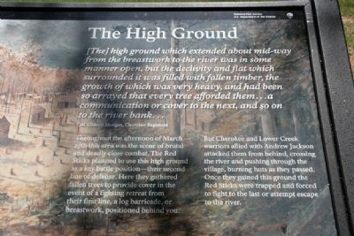 The High Ground Marker image. Click for full size.