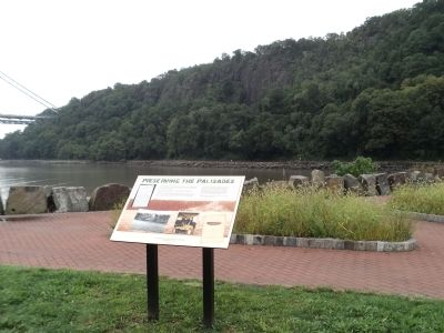 Preserving the Palisades Marker image. Click for full size.
