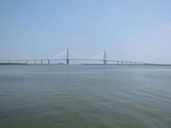 New Cooper River Bridge (Arthur Ravenel, Jr. Bridge) image. Click for full size.